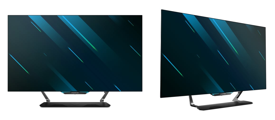 Acer CG552K OLED gaming monitor