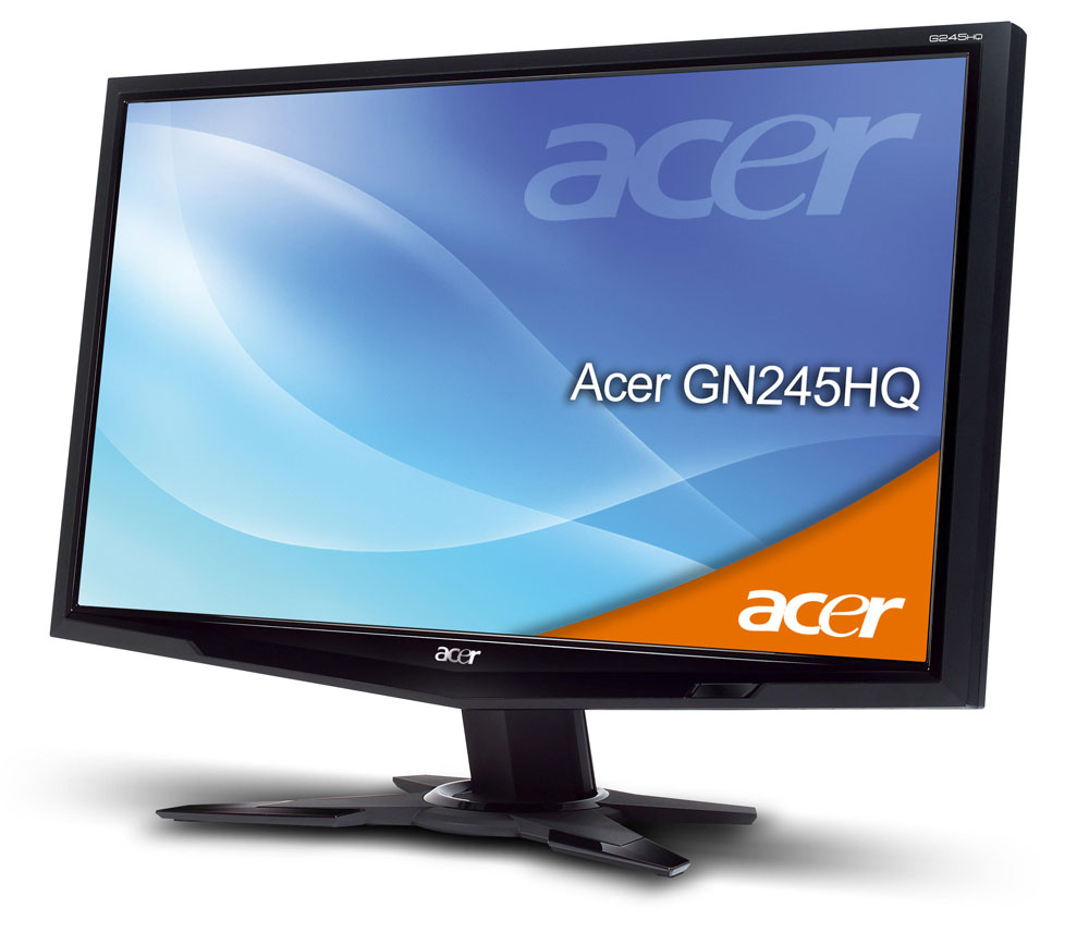 Acer Gn245hq Is First Hdmi 3d Monitor Flatpanelshd