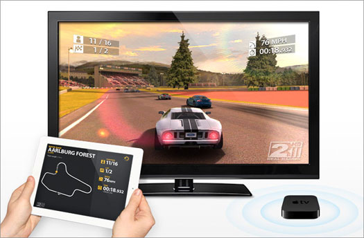 AirPlay turns Apple TV into gaming console