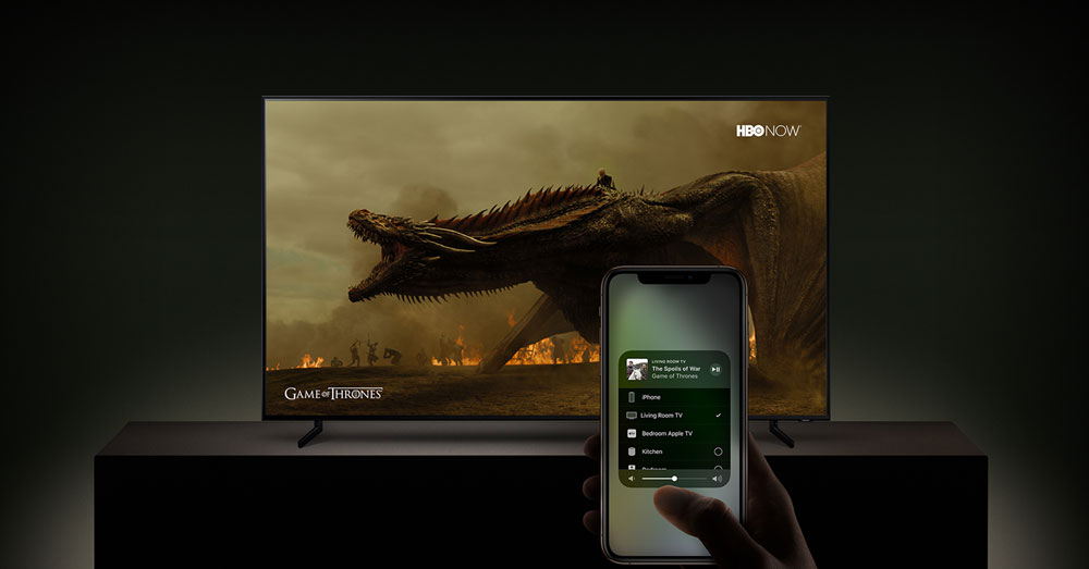 AIRPLAY IPHONE 5 TO SAMSUNG SMART TV