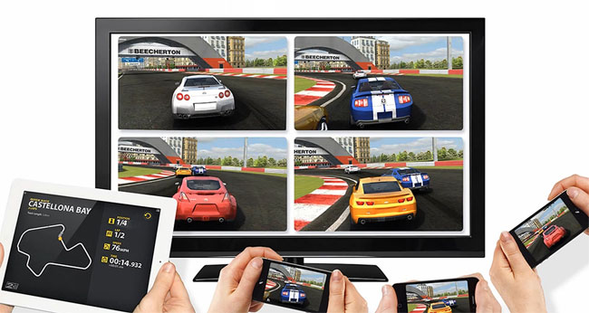 AirPlay and multi-player games on Apple TV