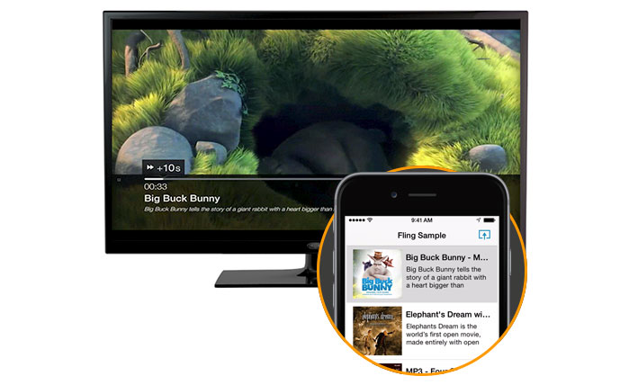 Amazon releases Fling to take on Airplay & Google Cast