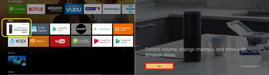 Alexa on Android TV