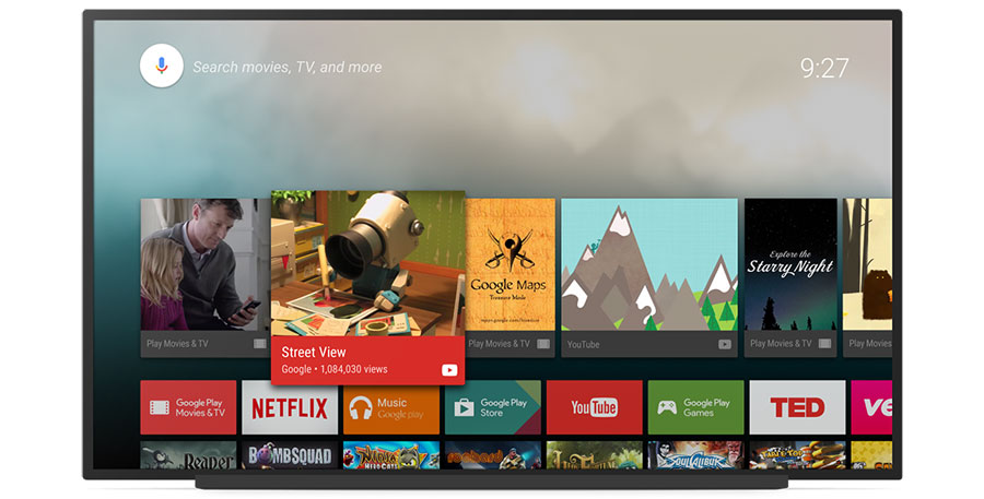 "Android TV pĺ CES 2016"" title="