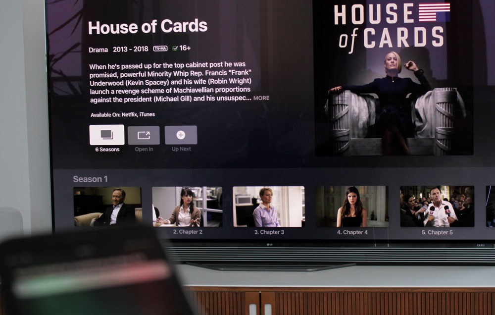 Siri-to-TV on Apple TV
