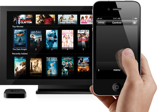 Control Apple TV with your iPhone/iPod/iPad