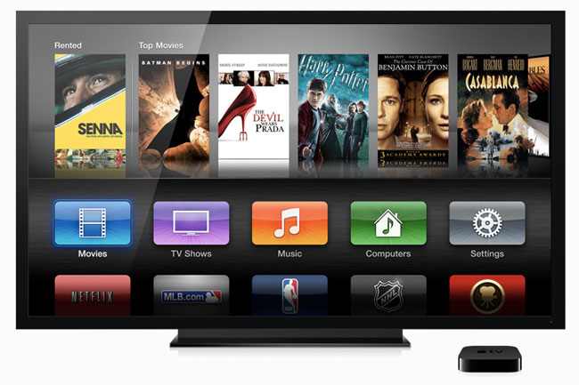 New user interface for Apple TV (1080p)