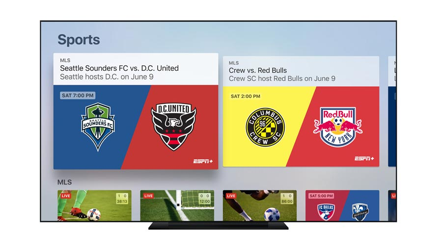 Apple TV Sports