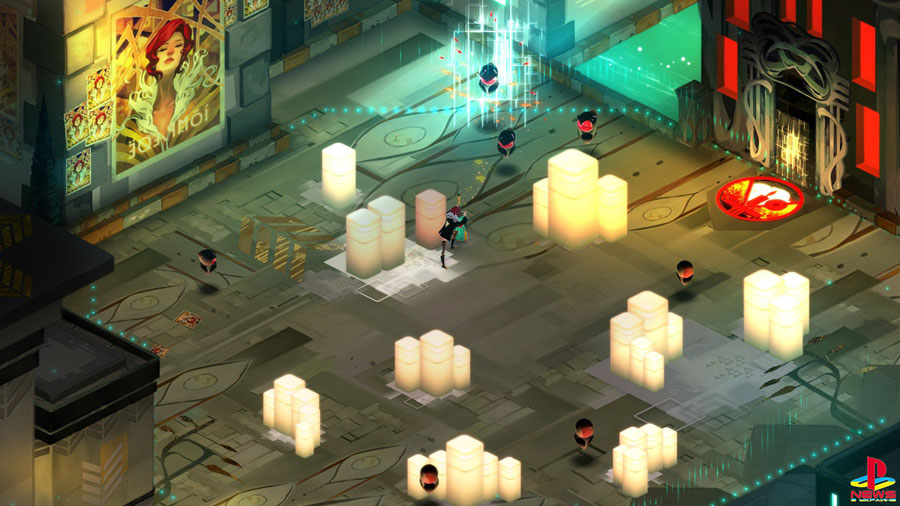 Transistor on Apple TV