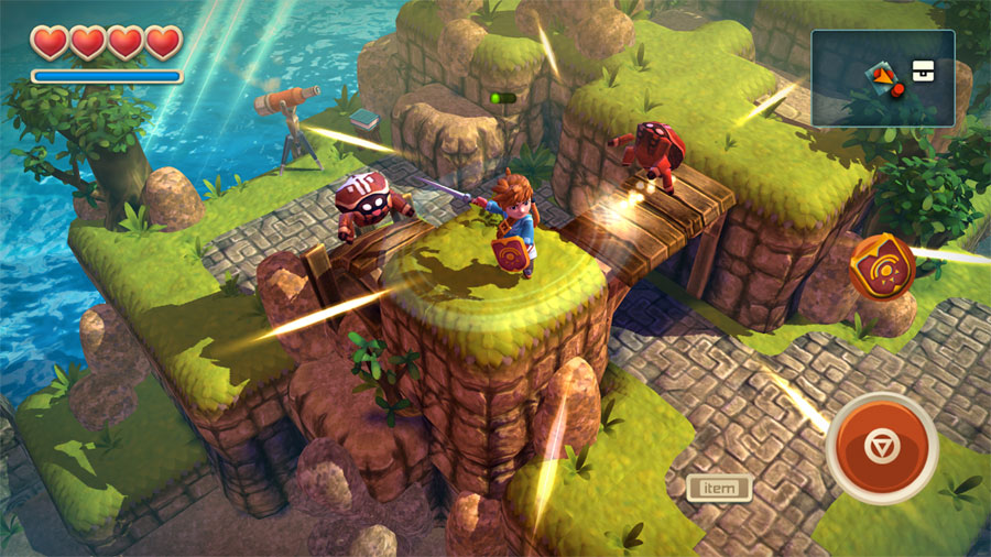 Oceanhorn on Apple TV