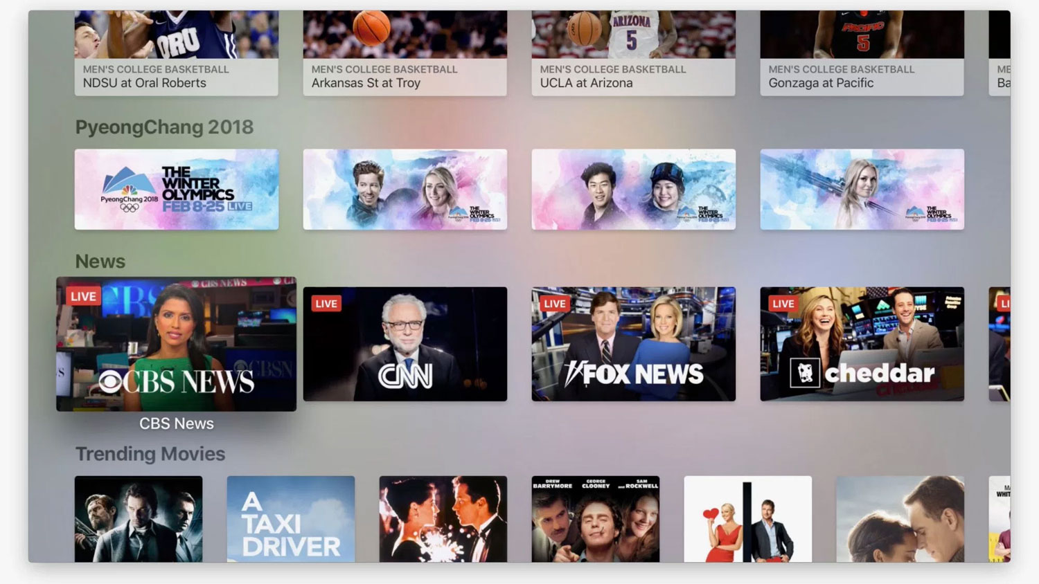 Apple adds live news section to its 'TV' app - FlatpanelsHD