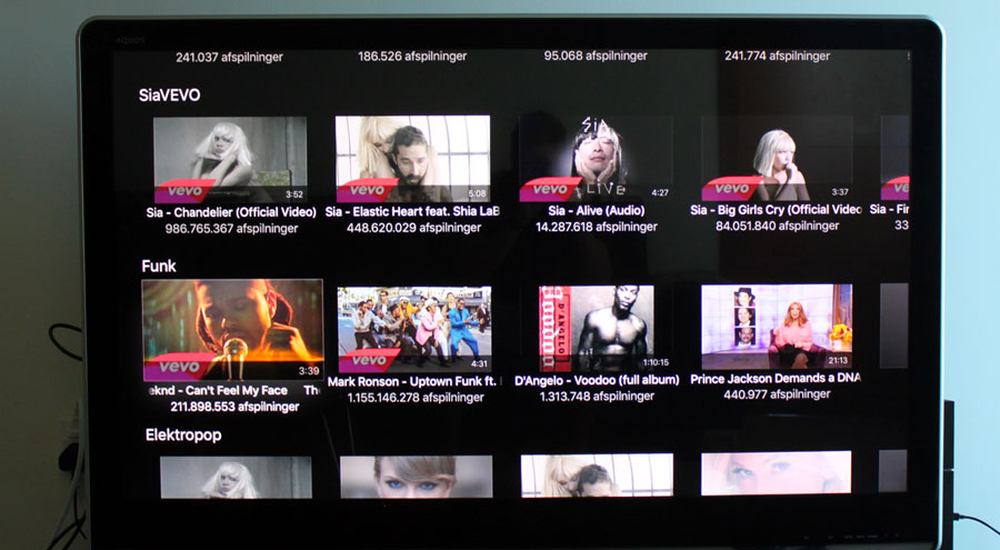 YouTube on Apple TV