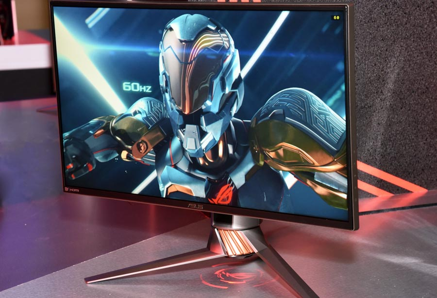 Asus unveils 5K monitor, first 240Hz monitor, 4K 144Hz