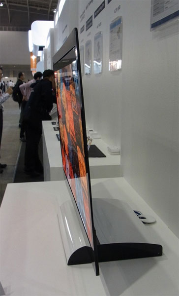 sony to partner with auo for oled tvs flatpanelshd. Black Bedroom Furniture Sets. Home Design Ideas