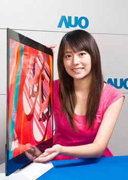 AUO 32-inch OLED-TV