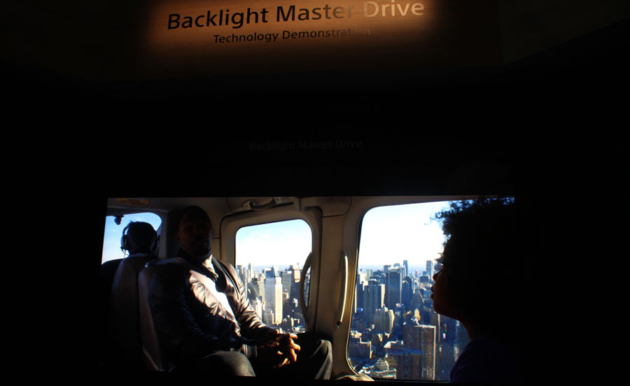 Sony Backlight Master Drive