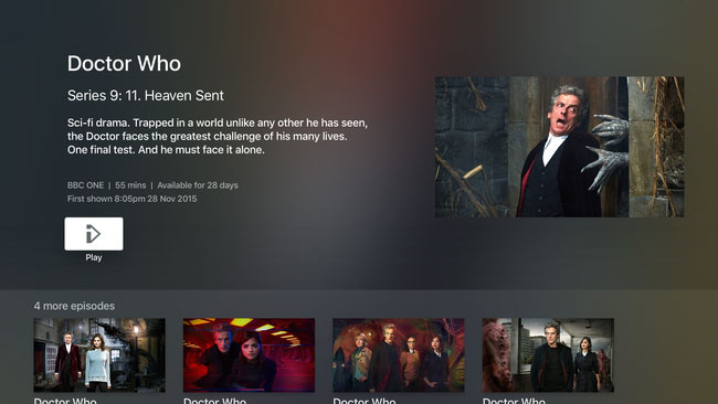 BBC iPlayer is now available on Apple TV - FlatpanelsHD