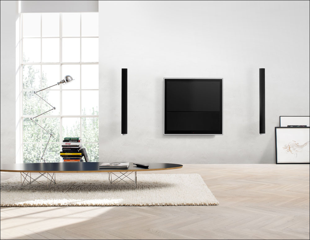 Bang olufsen announces 46 beovision 10 46 flatpanelshd for Living room tv channel 10