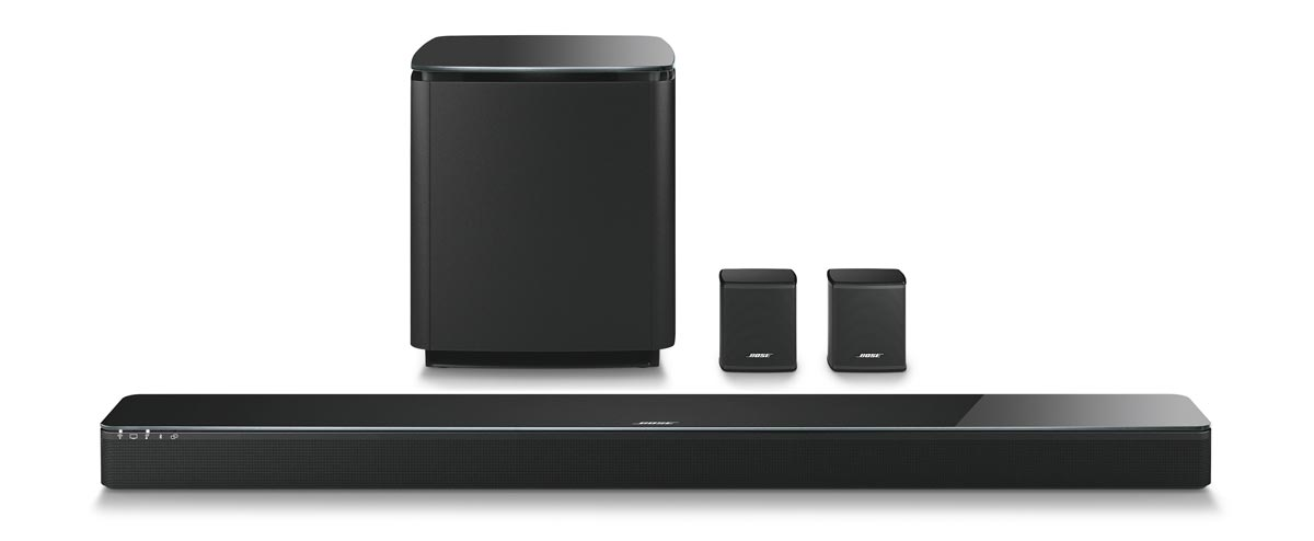 bose launches soundbar that can be expanded to 5 1. Black Bedroom Furniture Sets. Home Design Ideas