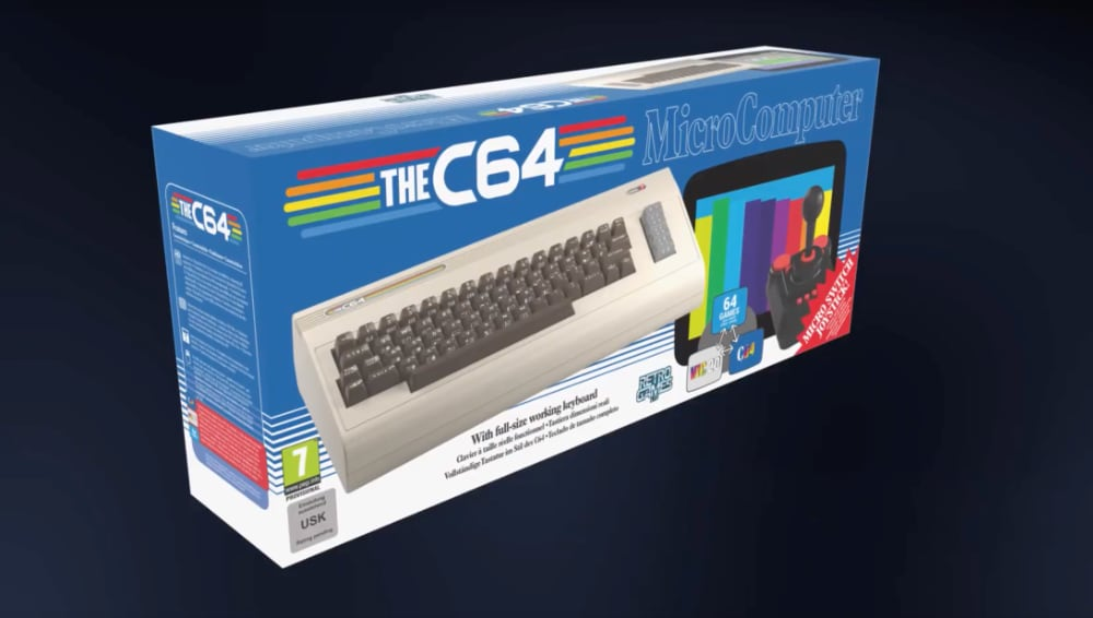 Commodore 64 retro, The C64