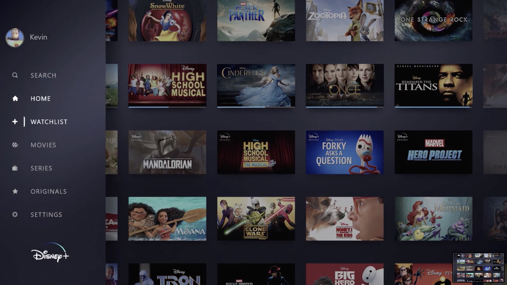 Disney+ launching on November 12 for $7/month with 4K HDR content