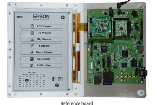 E Ink 2400x1650 pixel ePaper panel