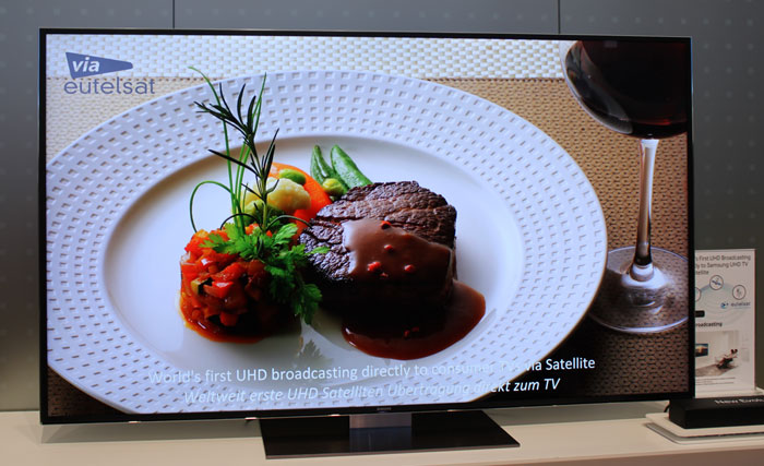 Eutelsat 4K TV channel