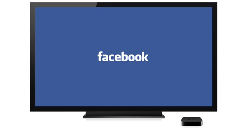 how to get facebook app on apple tv