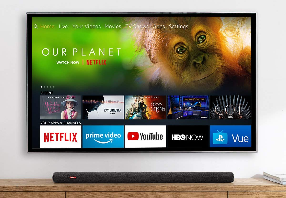 Amazon brings first OLED FireTVs to parts of Europe
