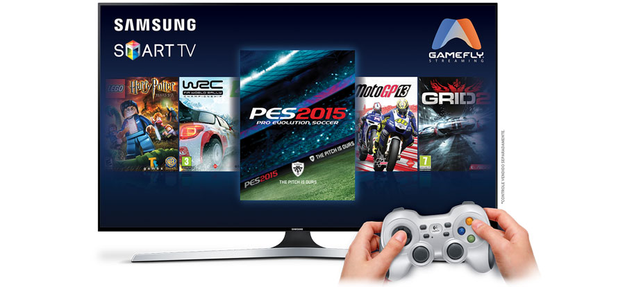 GameFly on Samsung Smart TV