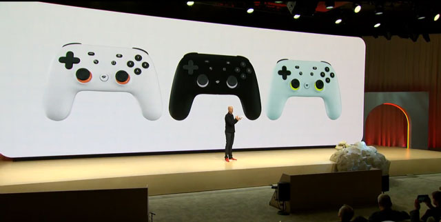 Google Stadia game streaming
