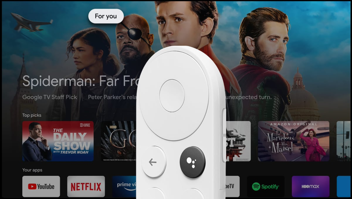 Google TV with Chromecast