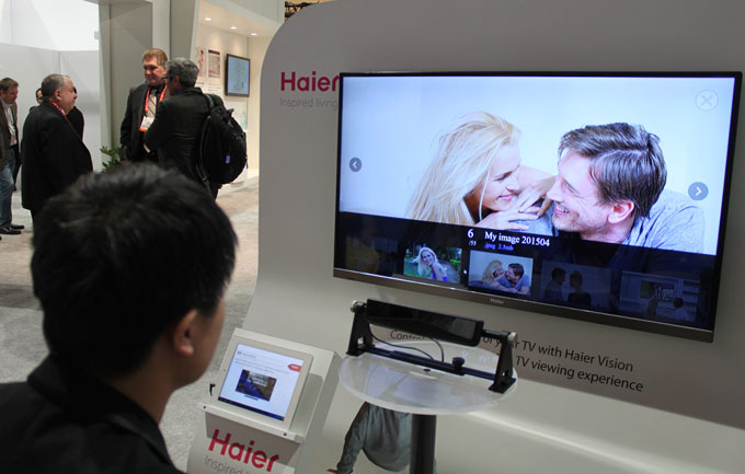 Haier lets you control your TV with your eyes