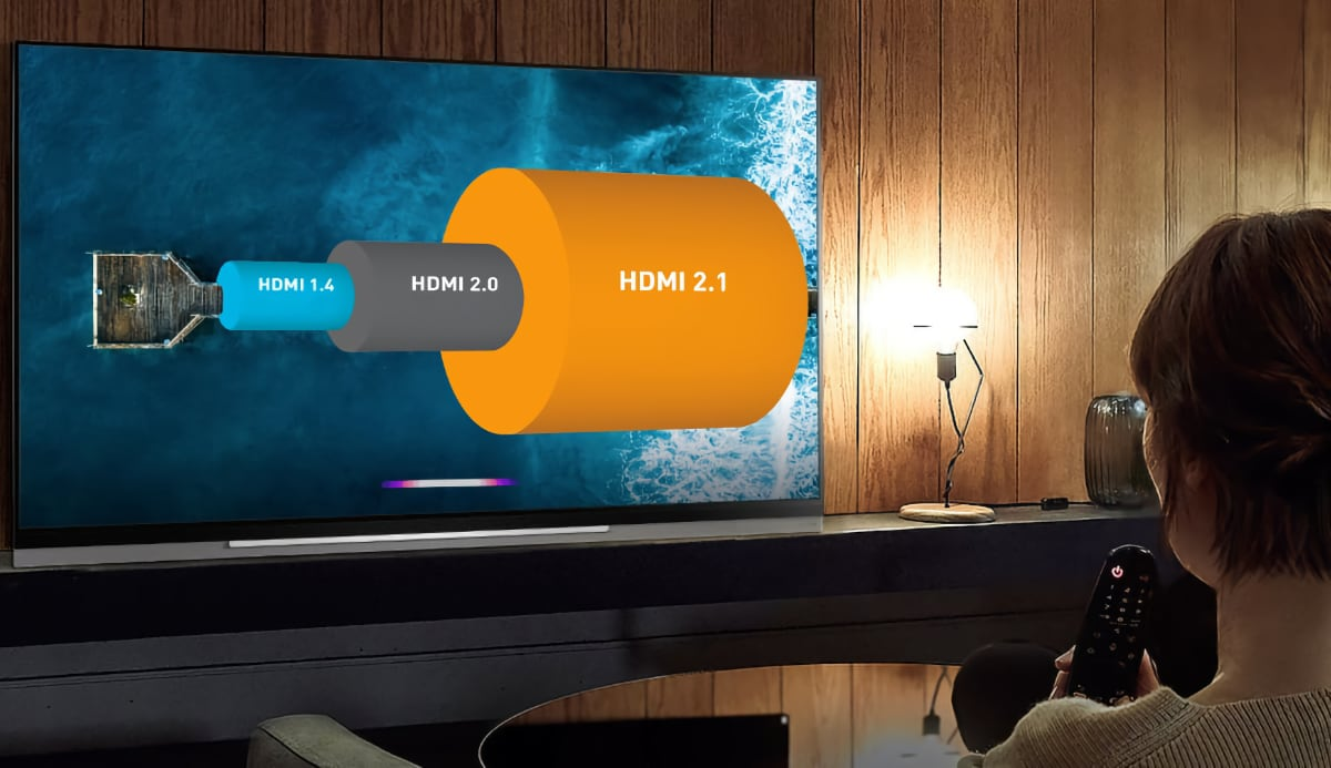 TV with HDMI 2.1