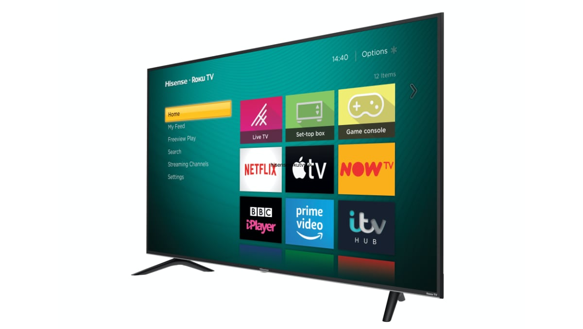 Hisense Roku TVs for the UK
