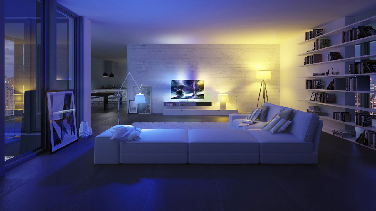 Philips Expands Ambilight To The Living Room Flatpanelshd