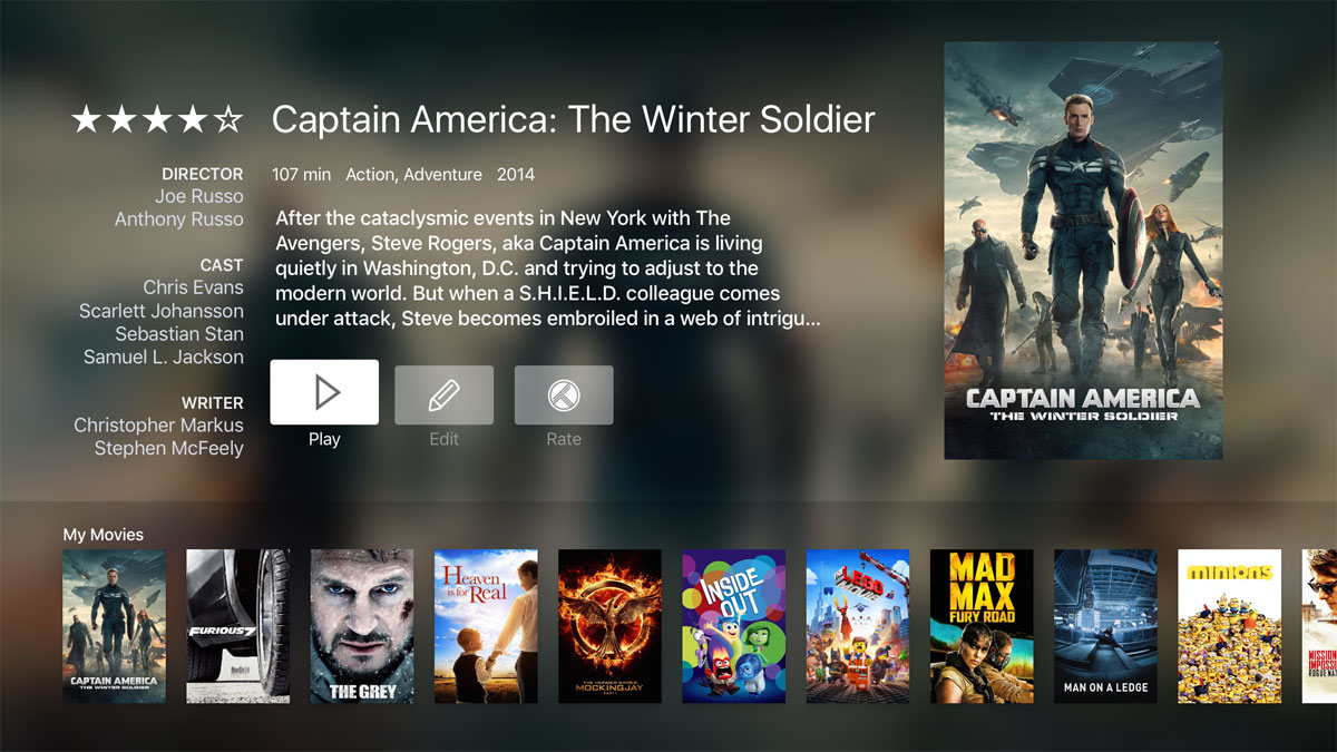 Infuse media player app launches on Apple TV - FlatpanelsHD