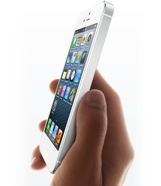 iPhone 5 uses in-cell touch