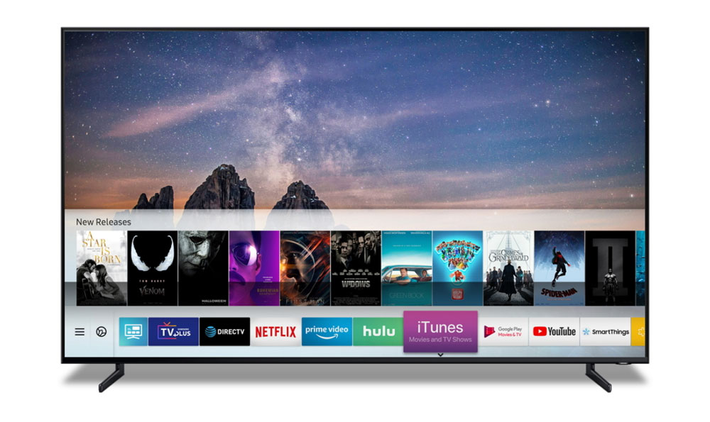 iTunes Samsung Smart TV