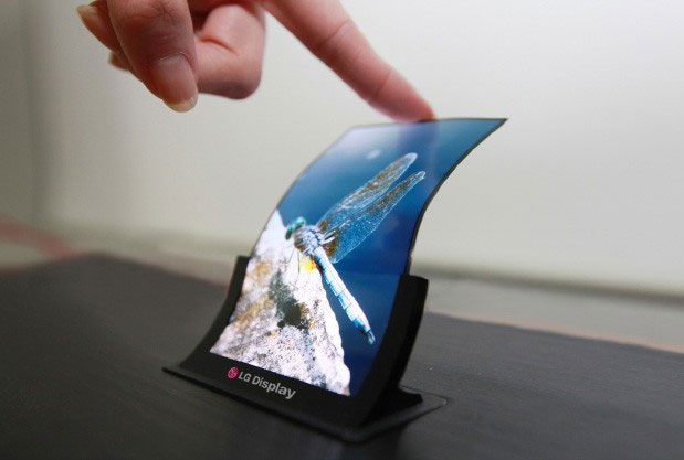 LGs 5-inch flexible OLED