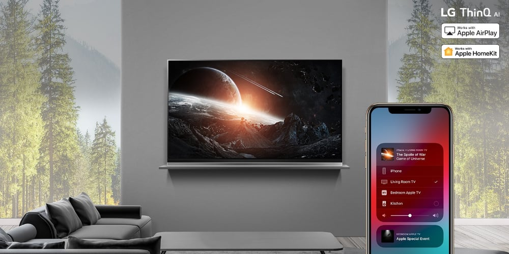 LG TVs - AirPlay 2 and HomeKit