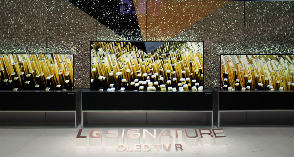 LG 2019 LG Rollable OLED TV