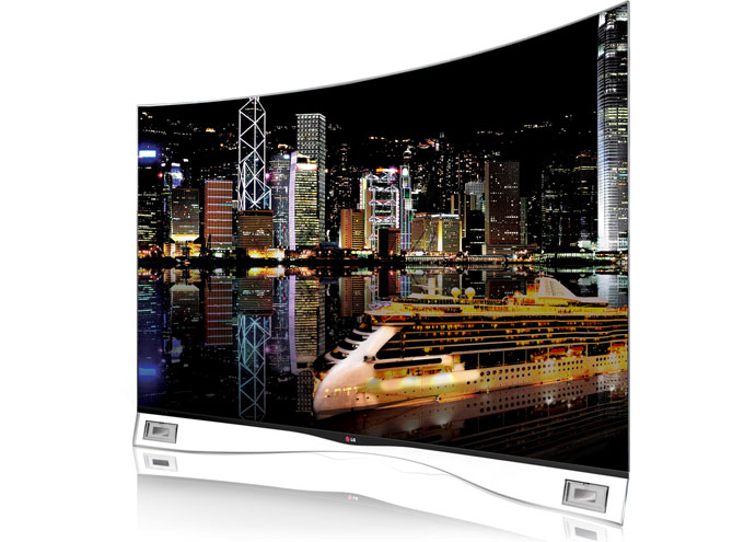 LG's curved OLED-TV