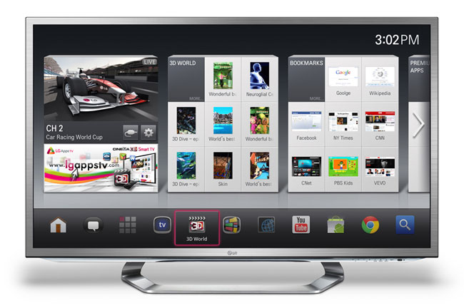LG's Google TV implementation