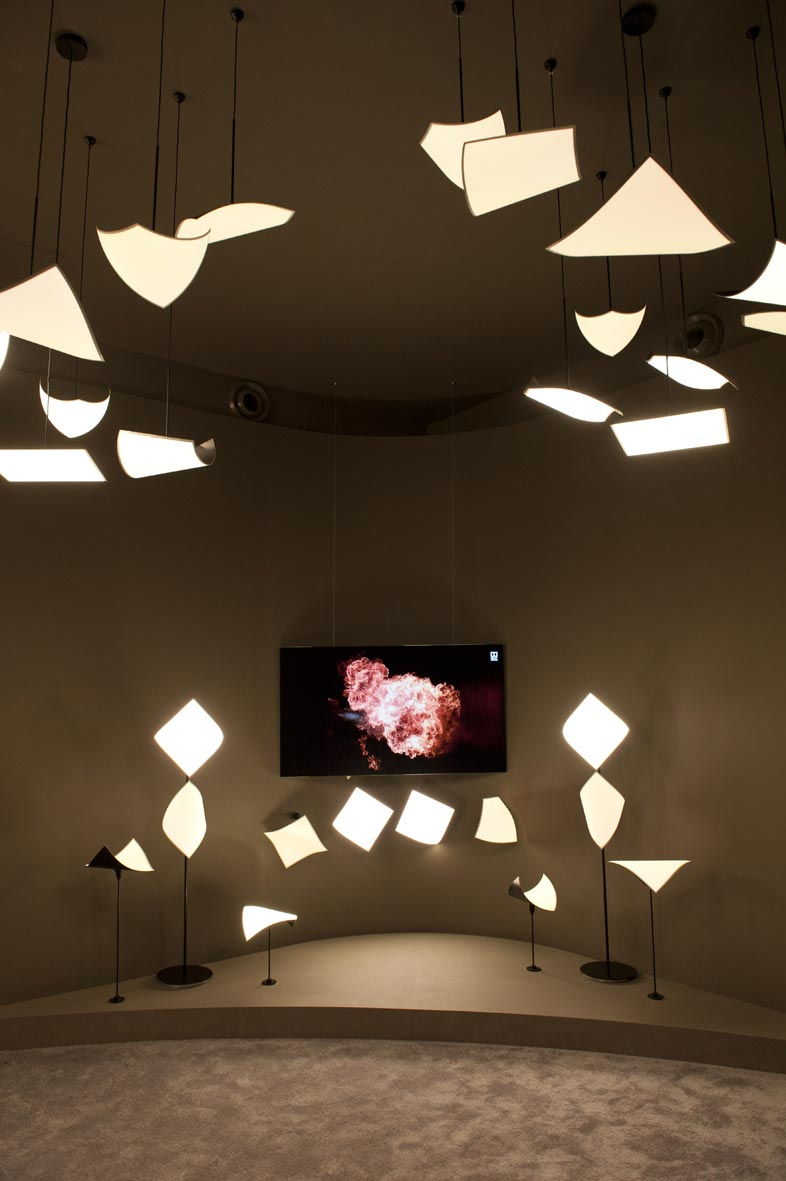 LG has developed OLED lights that double as speakers ...