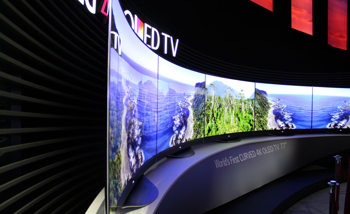 lg launches new flat curved oled tvs at ifa flatpanelshd. Black Bedroom Furniture Sets. Home Design Ideas