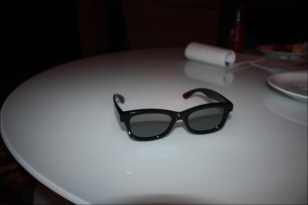 Flat 3d Glasses : First experiences with lg s cinema d tvs flatpanelshd
