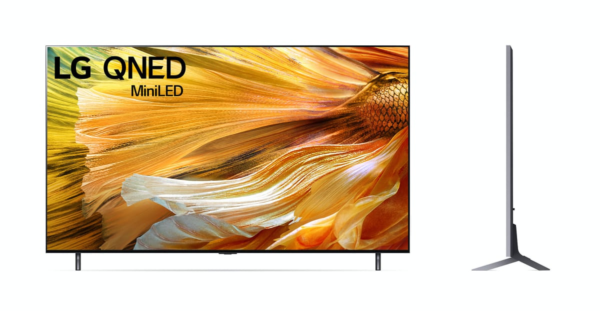 """LG announces EU pricing & availability for 2021 """"QNED"""" LCD TVs"""