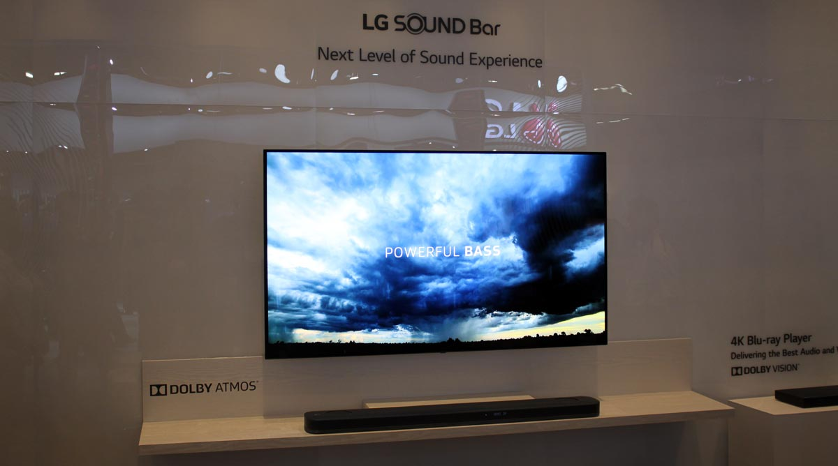 Lg Brings Dolby Atmos To Sj9 Soundbar And All 2017 Oled