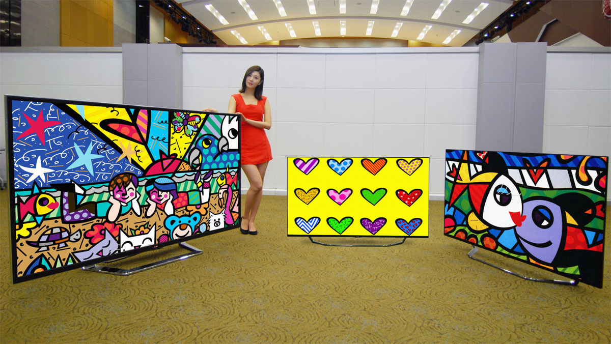 lg to bring 4k resolution to 49 panels in early 2014. Black Bedroom Furniture Sets. Home Design Ideas